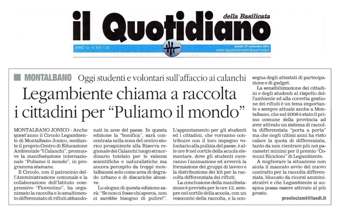 Il Quotidiano 27092014 2